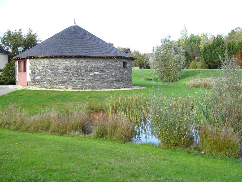 moulin du Poirier - parc du Vissoir - Trélazé
