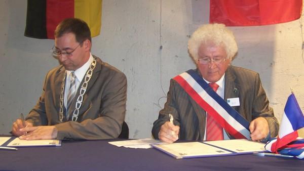 photo des 2 maires