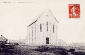Chapelle Bel-Air vers 1907 - Trélazé