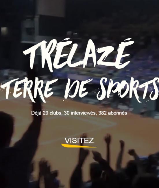 capture d'écran de l'exposition Trélazé, terre de sports