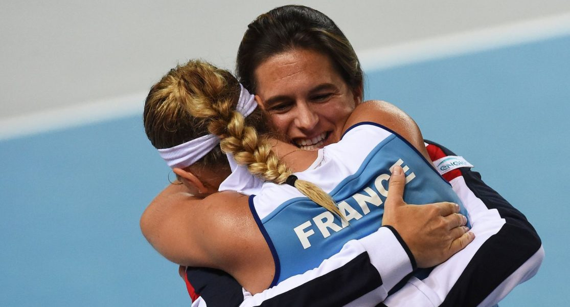 fed cup FRANCE