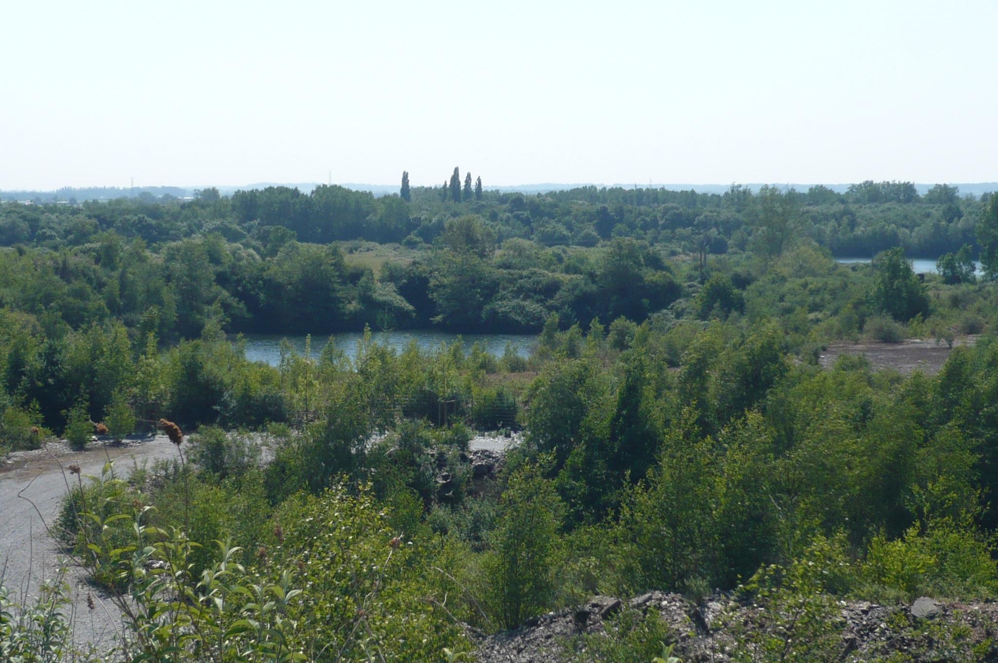 Vue du parc des ardoisières - Trélazé