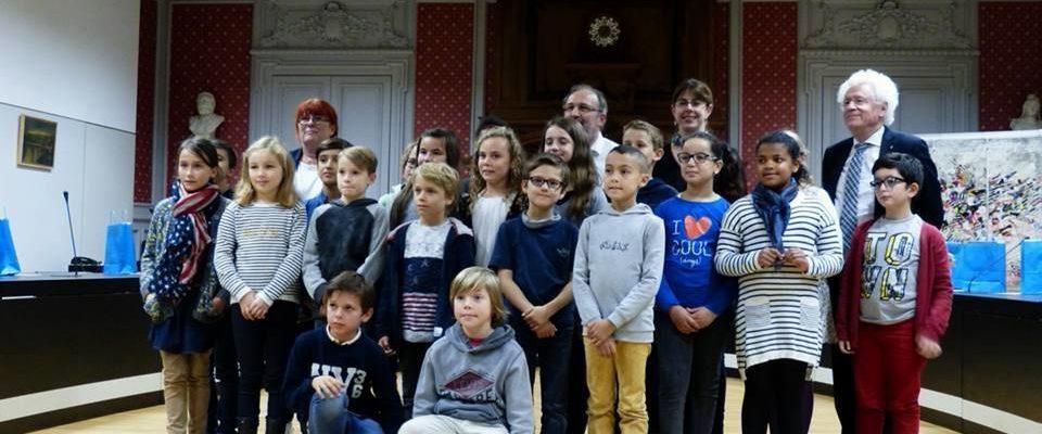photo du Conseil Municipal des Enfants - 2017 - Trélazé