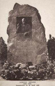 stèle Ludovic Ménard