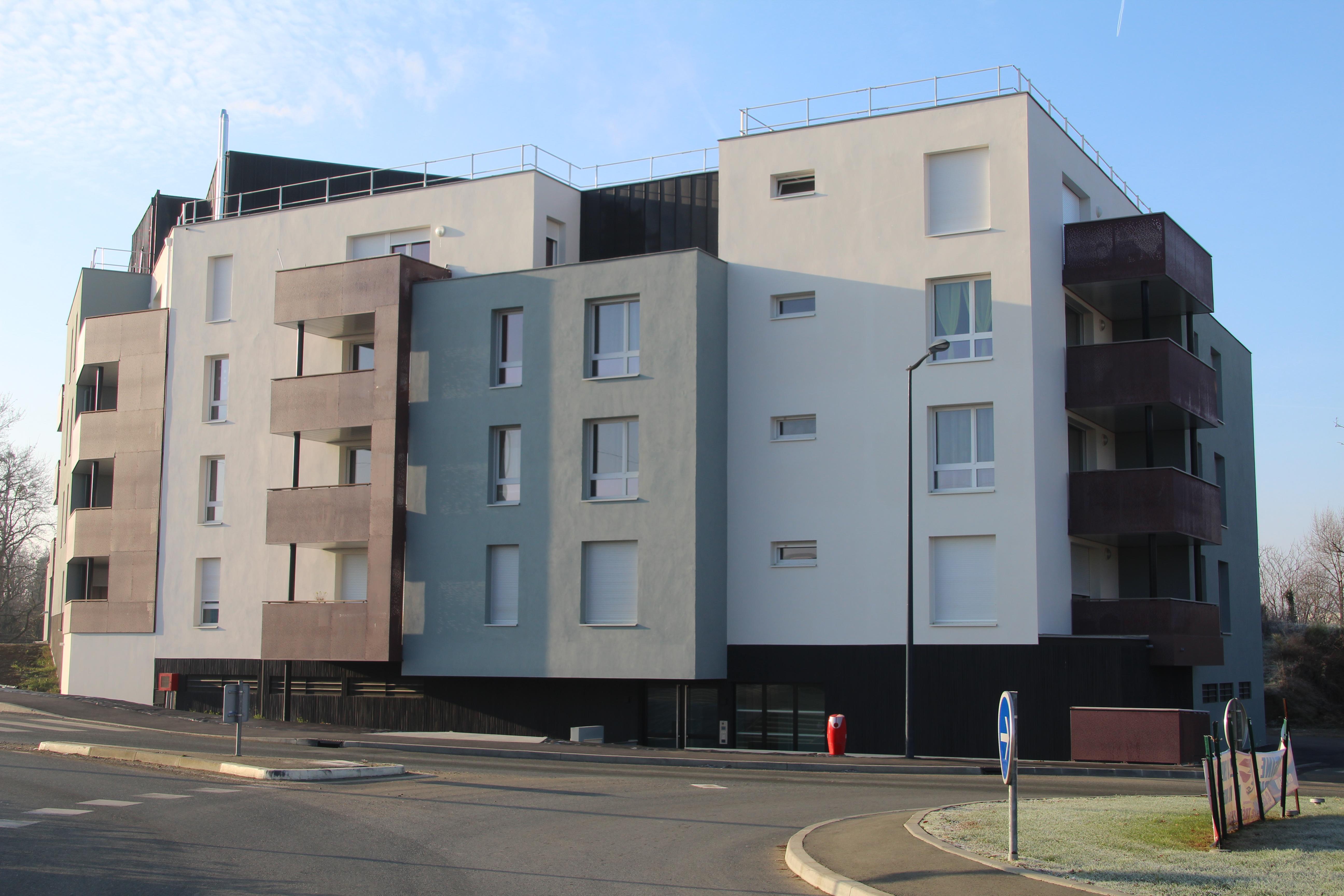 Immeuble 1 Quantinière Trélazé