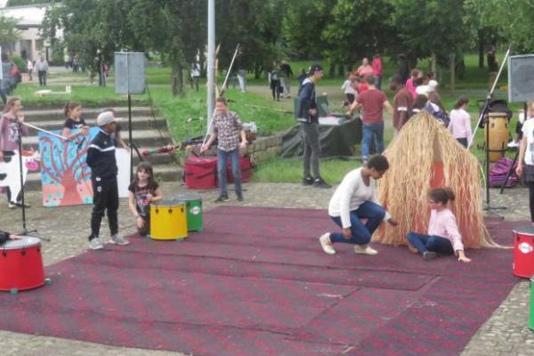 photo fête du périscolaire Trélazé