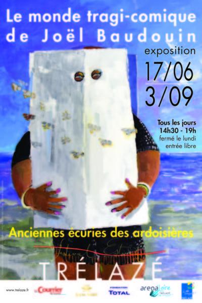Affiche exposition Baudouin