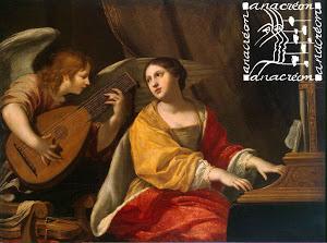 Affiche concert musique baroque Anacréon