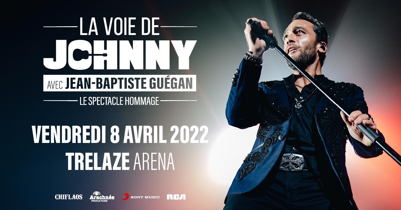Image de l'évènement DATE REPORTÉE   LA VOIE DE JOHNNY – LE PHENOMENE VOCAL JEAN-BAPTISTE GUEGAN