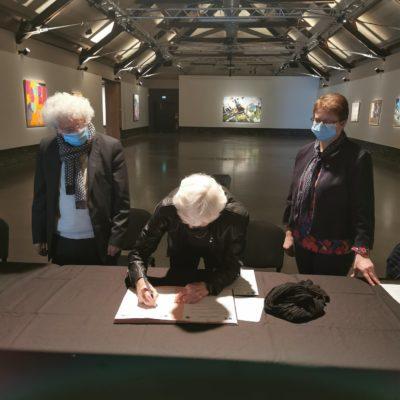 Photo de l'article Le partenariat entre la ville de Trélazé et les Lions Clubs d'Angers, une nouvelle fois confirmé