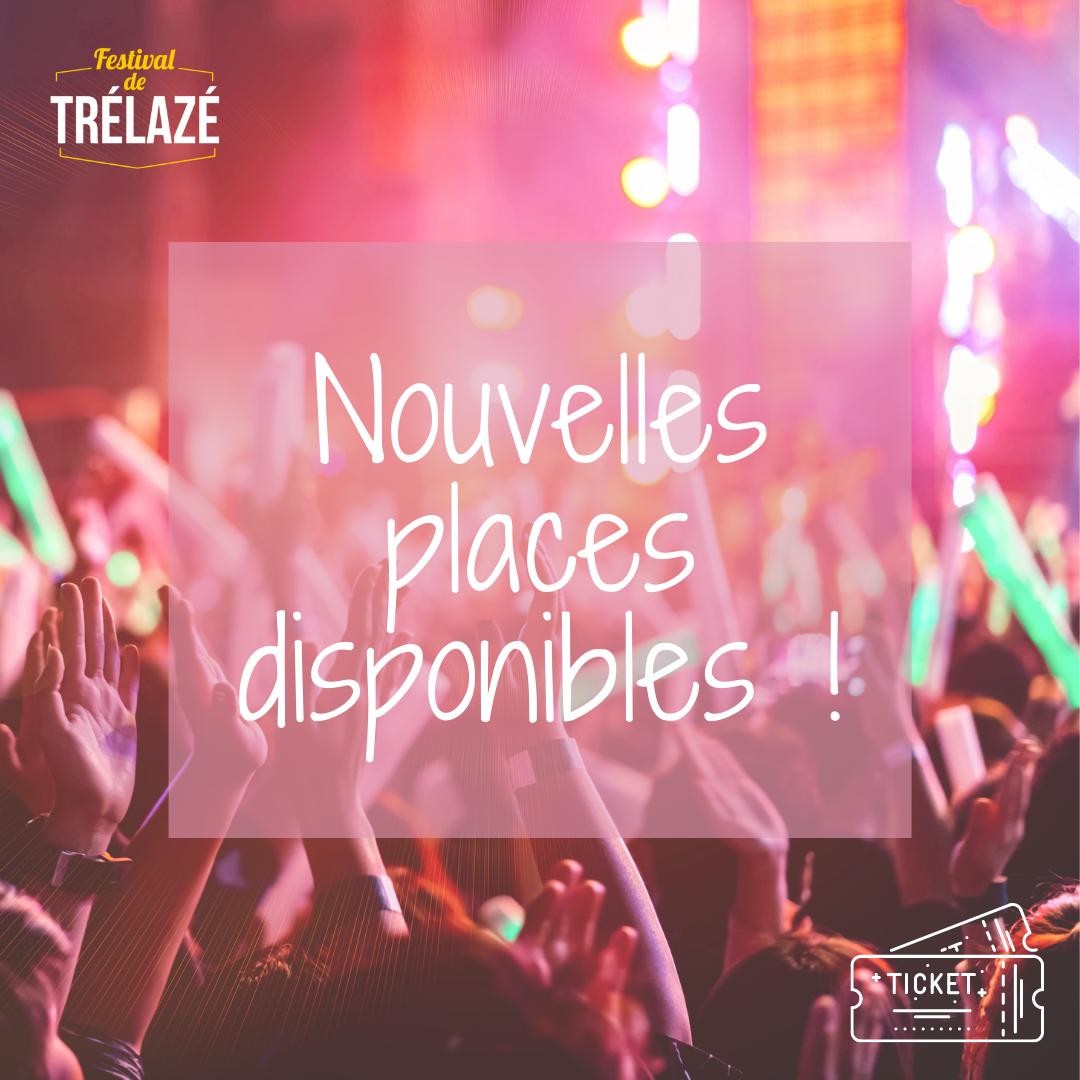 Image de l'article De nouvelles places disponibles pour le second set du Festival de Trélazé