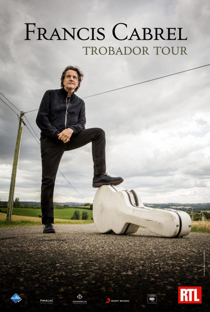 Image de l'évènement Concert de Francis Cabrel en Octobre 2021 à l'Arena Loire Trélazé !