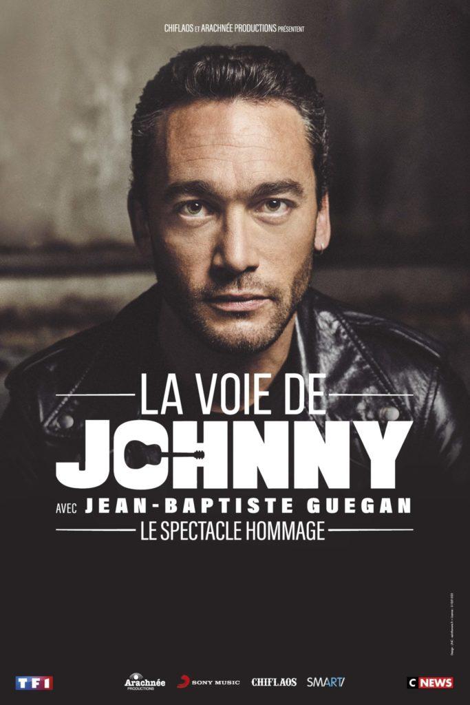 Image de l'évènement Jean-Baptiste Guéguan, «la voix de Johnny» en concert à l'Arena Loire trélazé en Octobre 2021 !